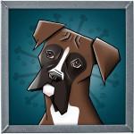 ilustrace boxera